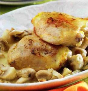 pollo-con-champinones