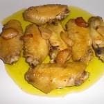Alitas de Pollo con Tabasco